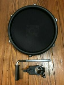 "Alesis 8"" Mesh Drum Pad w/Clamp L-Bar Tom DM7x Nitro Single Zone Expansion Pad"