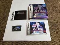 Atari Anniversary Advance (Nintendo Game Boy Advance, 2002) complete gba
