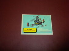 PLANES trading card #22 TOPPS 1957 Army Navy Air Force AIRPLANES OF THE WORLD