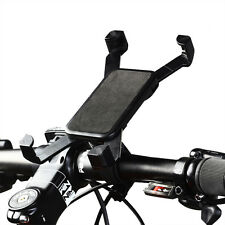 Universal Schwarz MTB Fahrrad Motorrad Handyhalter Stoßfest 360°Drehbar Ständer