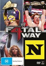 WWE - Fatal Four Way 2010 (DVD, 2010) - Region 4