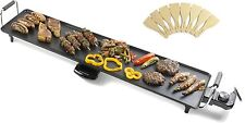 Andrew James Extra Large Electric Teppanyaki Table Top Grill Griddle