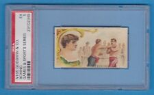 N165 1889 Goodwin & Co BOXING - Games and Sports series PSA 5 - EX