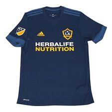 LA Galaxy MLS Adidas Men's Navy Blue Official Climacool Team Replica Jersey