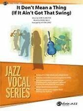 Ellington: It Dont Mean A Thing Jazz Ensemble Ensemble