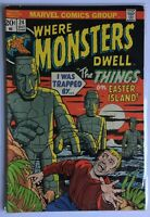 Where Monsters Dwell #24 (Oct 1973, Marvel)