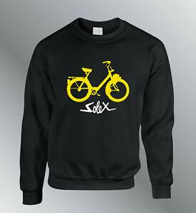 Sweat Shirt Bike Solex Motorcycle Sweatshirt Pullover Yountimer Vintage Cyclo