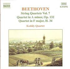 Beethoven - String Quartets (Complete), Vol.7 / Kodály Quartet