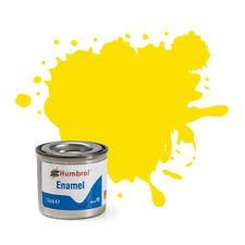Humbrol AA1095 Enamel pas de 99 Lemon Matt (14ml) Modélisme