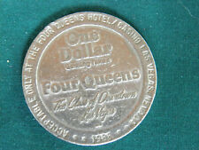 1988 Four Queens Hotel Casino Las Vegas - One Dollar $1 Gaming Token - EB78