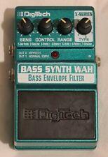 More details for digitech bass synth wah bass envelope filter effects. excellent bass / guitar fx