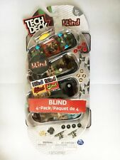 NEW UNOPENED 4-PACK TECH DECK 96MM BLIND FINGERBOARDS