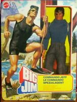BIG JIM ☆ COMMANDO JEFF ☆ 1980 #5100 -PRODUZIONE EUROPEA - ►NEW◄ ☆RARO☆ PERFECT
