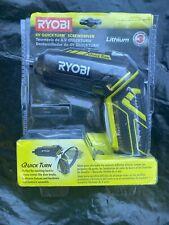 Cordless Screwdriver Kit  1/4 in. Hex 4-Volt QuickTurn Easy Change Home Jobsite
