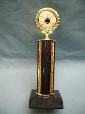 baseball gold insert trophy award black and gold column black wood base
