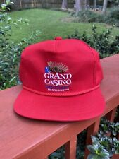 Vintage 80s Grand Casino Gulfport Mississippi Snapback Hat