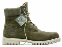 """TIMBERLAND 6"""" Limited Release Waterproof Boots Autumn Leaf Dark Green TB0A18PZ"""