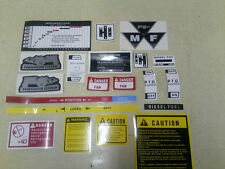 Massey Ferguson Caution Decals