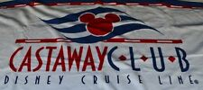 Disney Cruise Line DCL Castaway Club Exclusive Beach Towel Retired RARE