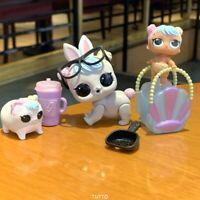 Lol Surprise Dolls Hop Hop Pet Family Lil Bon Bon, bunny pet cosplay club rare