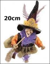 sorciere ,porte bonheur,20cm,objet de légende, poupée, witch, heks,sorcière  G25