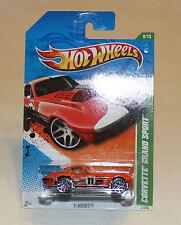 2011 Hot Wheels HW T-Hunt #59 Corvette Grand Sport Orange Treasure Hunt TH New