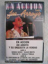 """Joe Arroyo y su Orquesta La Verdad """"En Accion""""-Rare Latin/Salsa Cassette"""