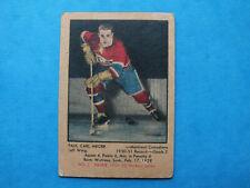 1951-52 Parkhurst # 2 Paul Carl Meger Rookie  Montreal Canadiens  ( VG )