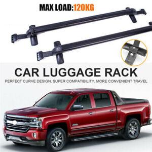 "43.3"" Universal Car Top Roof Rack Cross Bar Aluminum Luggage Carrier"