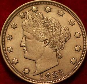 1883 Philadelphia Mint Liberty Racketeer Nickel