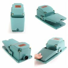 Antislip Momentary Industrial Foot Operated Pedal Switch Footswitch AC 250V 15A
