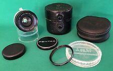 "PENTAX Auto-TAKUMAR 1:3.5/35mm Lens, ""Pro. desservies"" extras... collector alerte!"
