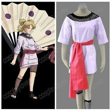 Naruto Anime Cosplay Temari 1st Costume Halloween