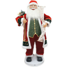 "Fraser Hill Farm Fasc036D-12Red 36"" Dancing Santa with Naughty & Nice List, Chri"