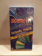 2003 Scene It? The DVD Game Sequel Pack Movie Edition More Cards & DVD SEALED