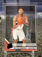 2019-20 Clearly Donruss #58 Rui Hachimura Rated Rookie RC Purple Parallel SP!!!