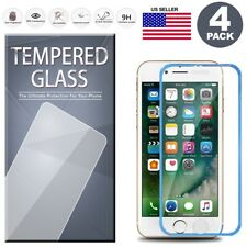 For iPhone 8/7/6S/6 PLUS Full Coverage Edge Tempered Glass Screen Protector 4PCS