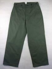 WWII German M37 M40 HBT Field Trousers Pants