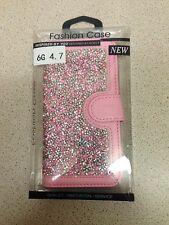 PINK GEM STUDDED PHONE CASE FOR IPHONE 6
