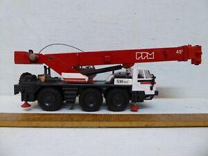 Joal 168 1/50 PPM 530 ATT Wheeled Crane .25cm long diecast. - used / unboxed