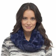 Polyester Textured Snood Scarves & Shawls for Women