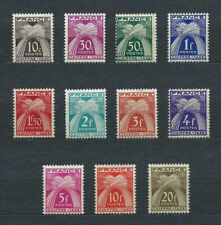 TIMBRES TAXE - 1943-46 YT 67 à 77 - TIMBRES NEUFS** MNH