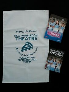 WAITRESS Musical UK TOUR Opening Night Bundle. Lucie Jones Matt Willis Programme