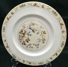 Royal Doulton Mandalay Dinner Plate England Brown Blue Floral