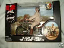 GI Joe U.S. Army Courier & WLA 45 Harley-Davidson