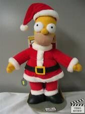 Holiday Homer (Santa Homer) - The Simpsons doll; New, Applause; Christmas themed