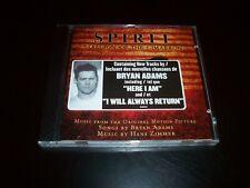SPIRIT Stallion of the Cimarron Soundtrack CD 2002 BRYAN ADAMS CANADA NEW