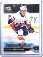 Anthony Beauvillier 2016-17 Upper Deck Young Guns #220 Rookie Card RC Islanders