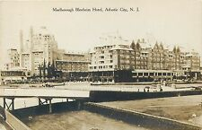 ATLANTIC CITY, NEW JERSEY - MARLBOROUGH BLENHEIM HOTEL REAL PHOTO POSTCARD VIEW