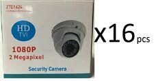 HD TVI 1080P Dome Camera 2MP 1/3 SONY 3.6mm Lens, 24 IR, USA New 16x HD Cameras